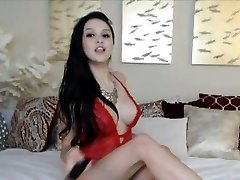 Gigantic Titties Teen Masturbating