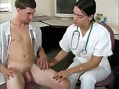 Dame physician gets sperm sample & taste from patient WF