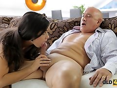 OLD4K. Rough sex for wondrous  latina babe.