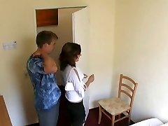 Hidden cam vokiečių hotelroom
