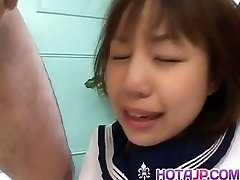 Nonoka is drilled so hard in pink crack by men