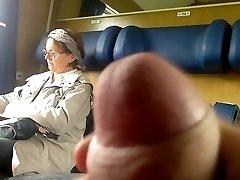 Teach Dick showcase to Mature - with Cum