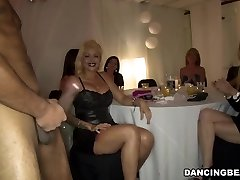 Fantastic girls enjoy dick party