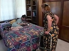 Mature brunette indulges in steaming oral sex