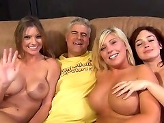 3 Babes Orgy With Fellows