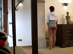 caning of two girls