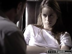 Unspoiled TABOO Jill Kassidy Tricked into Hump by Doctor