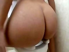 Magnificent Blonde Fucked On The Toilet