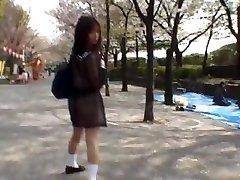 Mikan Hämmastav Aasia koolitüdruk naudib part1