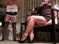 Femdom Sissy Cuckold Helps Milf Advertise for BBC Fun