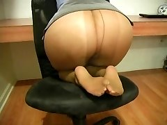 Booty Pose In Office