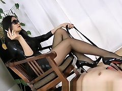 Horny Homemade vid with Femdom, Smoking scenes