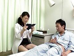 Horny Japanese superslut in Spectacular Nurse JAV movie