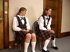 short spanking wedgie pinch