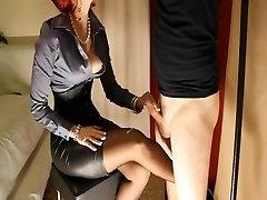 Female Domination handjob compilation