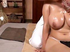 massage à l'huile airu oshima