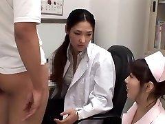 Exotic Chinese chick Rina Fukada, Haruna Saeki, Maki Mizusawa in Greatest Cumshot, Three-way JAV movie