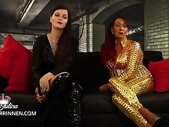 Serve mother and stepdaughter as chastity and enjoyment slave