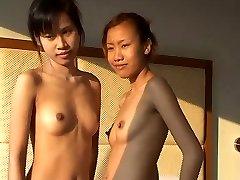 Innocent Thai cutey Saori Legitimate gets fingered