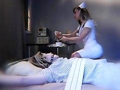 Tranny patient gets vengeance on Milf nurse