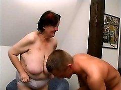 young guy humps 70 yo ugly fat granny oma