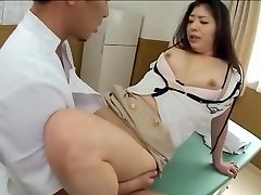 Jaw-dropping Jap gets screwed in kinky spy cam massage clip