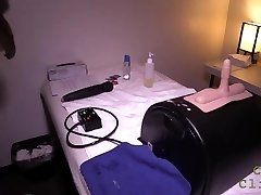 Cum Clinic - Stroking a Dude with a Sybian