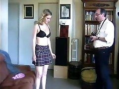 Bashful french girl domestic discipline. Stripped and spanked