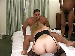 Hot Mustache Daddy-Teddy in a gang bang