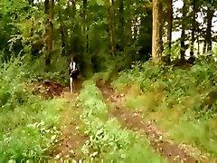 franceză teen futut in padure