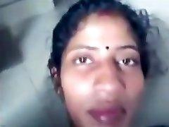 Desi Tamil wife Sandhya enjoy cave driiled
