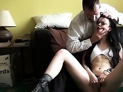 Sexy girlfriend extreme gang penetrate