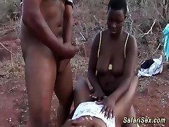outdoor african safari fuck-fest