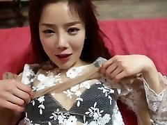 Beautiful korean girls in stocking