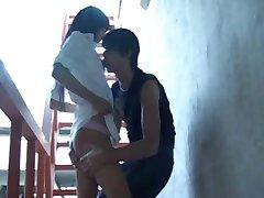rus emo adolescenti fac sex în afara aeroport