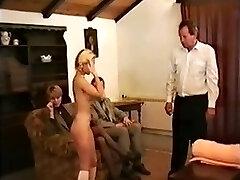 Czech schoolgirl hard smacked by teachers
