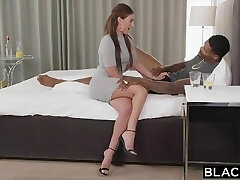 BLACKED Nurse Can't Resist Big Black Cock On A Building Call