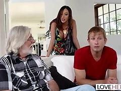 LoveHerFeet - Stepmom Wants My Cum On Her Soles