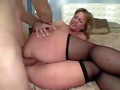 Big Ass Mama Houdt Van Anale Sex