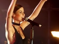 Lena meyer-landrut sperm in nose cameltoe pussy ass on stage