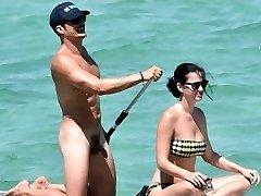 Orlando Bloom Nahý Penis v Dovolené s Katy Perry