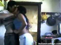 indian cousins fucking in kitchen and moaning