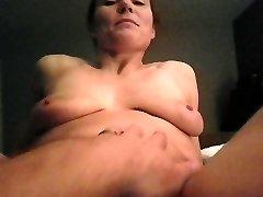My girl touching herself