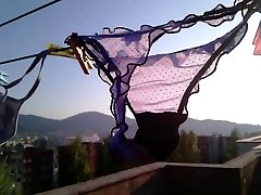 My sexy neighbor's thong