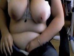 Watching me masturbating