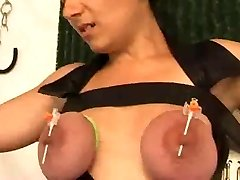 Nipple piercings for the orgasm