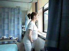 ongelooflijk amateur opnemen met solo, zwangere schermen