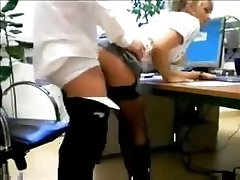 real secretary fucks boss amateur