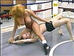 Tammy Lee - Topless Misto De Wrestling
