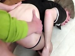 Russian maid dressed and was fucked.